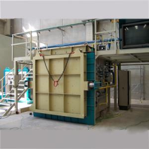 China Vertical Fire Resistance Test Furnace EN 1363-1,ISO 834 on sale