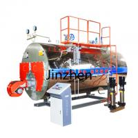 China Industrial 2 Ton Diesel Oil Gas Fired Steam Boiler for clothes factory on sale