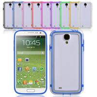 TPU Bumper silicone Samsung Galaxy S4 mini case and Protection covers