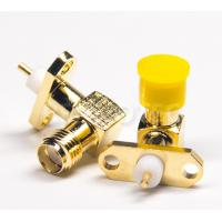 Buy cheap 2 Holes Flange SMA Female Right Angle Connector sma f r/a product