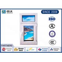 Buy cheap Manual Shaped Fire Resistant Windows With Hollow Double Tempered Glass product