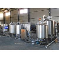 Buy cheap Flavored Fresh Milk Processing Machine / Dairy Milk Production Machinery product