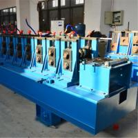 China Hydraulic Punching Cable Tray Roll Forming Machine , Rolling Form Machine Cr12mov on sale
