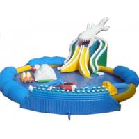 Buy cheap Blow Up Inflatable Aqua Park , Inflatable Backyard Water Park 20*18m Dimensional Stable product