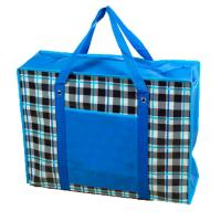 Buy cheap Silk Screen Recycle Non Woven Zipper Bag Water Resistant With Inner Pocket from wholesalers