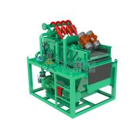 China Double Layers Bored Pile Drilling Mud System , 15KW HDD Mud Circulation System on sale