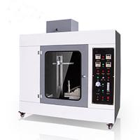 Plastic Horizontal  Cable Testing Machine High Precious Vertical Flammability Tester for sale