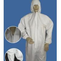 Buy cheap Waterproof Disposable Protective Coveralls , Surgical Supplies Hospital Isolation Gowns product