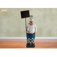 Buy cheap Polyresin Statue Figurine Big Resin Fat Chef Figurines product