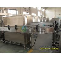 Buy cheap Juice Glass Bottle Cooling Machine , Stainless Steel Beverage Production Equipment product