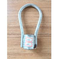 Buy cheap Carbon Steel Loop Insertion / Coil Ties Hot Dipped Galvanized Construction Formwork product