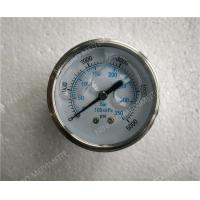 Buy cheap 63mm All Stainless Steel Liquid Filled Glycerin Pressure Gauge with Roll Ring Bezel product