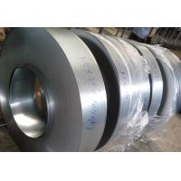 Outside Walls Hot Dipped Zinc Coating Steel Strip Coil , Cold Rolled Steel Strips