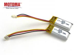 Buy cheap MOTOMA Smart Watch Lithium Ion Battery 601230 3.7V 180mah With BIS product