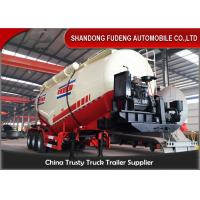 Buy cheap 3 axles Dry Bulk Trailer Powder Cement Tanker Semi Trailer With 25ton-40ton product