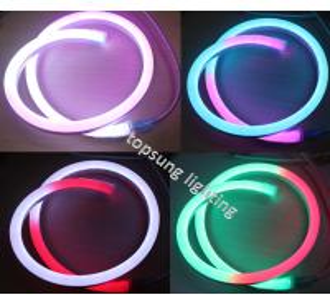 China 14*26mm digital neon lights 24v changeable led letter sign on sale