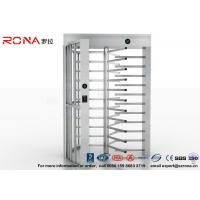 Buy cheap High Security Full High Turnstile Access Control Use for Prison With Stainless Steel product