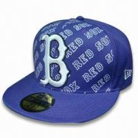Buy cheap Sports/Visor Cap, Made of 65% Cotton and 35% Polyester Knitted Jersey product