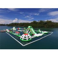Buy cheap Obstacle Courses Outdoor Inflatable Floating Water Park For Adults Puncture Proof product