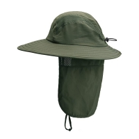 Buy cheap Male Anti UV Fisherman Bucket Hat For Hot Summer product