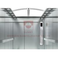 Buy cheap Safe And Stable High Speed Elevator , Low Noice Hospital Elevator 1~2.5m/s from wholesalers