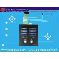 Buy cheap PET Light Weight Tactile Backlit Membrane Switch for Screen Printing Machine product