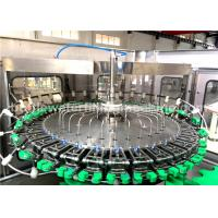 Buy cheap 8000BPH Glass Bottle Filling Machine For Soda Water / Energy Drink Production product