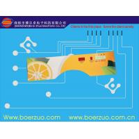 Buy cheap PET Snap Push Button PCB Membrane Switch With Adhesive DT 6100 product