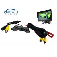 Buy cheap Taxi Vehicle Hidden Camera DVR system , Frontview or Rearview Cam with 6 IR lights product