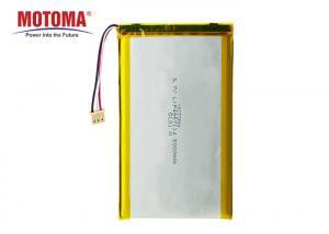 Buy cheap Lightweight GPS Tracker Battery , 3.7 V 5000mah Lipo Battery UL1642 Certificate product
