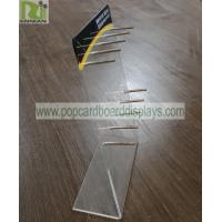 Buy cheap Practical Acrylic smoke oil Display Stand with pegs can suit for many different from wholesalers