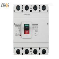 Buy cheap CM1 3/4 Poles 6~1600A White/Transparent Quality Made in China Factory Moulded Case Circuit Breaker MCCB product