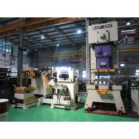 Buy cheap Multi - Functional Steel Coil Uncoiler Short Gauge Feeder / Mechanical Shearing Machine product