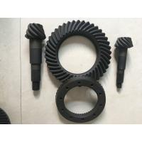 Buy cheap High Rigidity Crown Wheel And Pinion Gear , Spiral Differential Ring Gear product