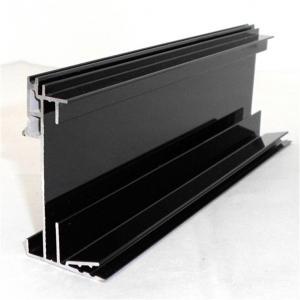 Buy cheap 6063 T5 Aluminum Extruded Profiles Curtain Wall Window Decorate Electrophoresis Aluminium Profile product