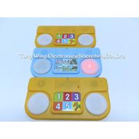 China ABS + CCNB 6 Button and 2 LED Module For Intellectual Baby Play A Sound Book for sale