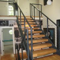 Buy cheap Modern stair Railing design Wire Staircase Balustrade carbon steel/stainless steel deck railing product