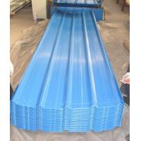 coloured corrugated steel roofing sheet