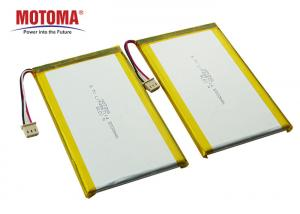 Buy cheap Rechargeable 3.7 V Lipo Battery 5000mah High Capacity For POS product