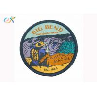 Buy cheap Clothing Iron On Backing Custom Woven Patches , Small Embroidered Patches product