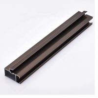 Buy cheap Interior Anodized Champagne Aluminum Profile For Glass Frame product