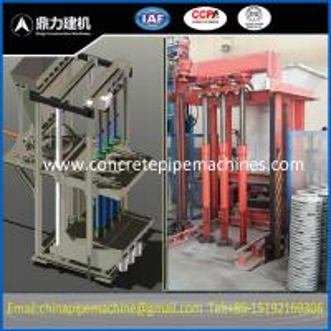 double triple concrete pipe making machinery +86-15192160306
