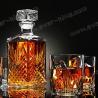 OEM 1500g Luxury Spirits Whiskey Glass Bottle for sale