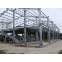 Buy cheap Steel Structre Warehouse With Hot-dip Galvanized from wholesalers