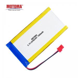 Buy cheap Deep Cycle Lipo Lithium Polymer Battery 1560mAh For Alcohol Tester product
