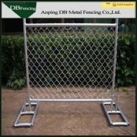 Buy cheap High Strength Temporary Chain Link Fence , Steel Chain Link Security Fence product