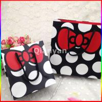 Buy quality Wholesale custom paper shopping bag,little paper bags, gift paper bag at wholesale prices