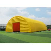 Buy cheap Ground Yellow Inflatable Canopy Tent , Inflatable Advertising Tent Modern Design product
