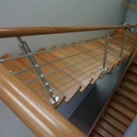 Buy cheap 304 316 Grade Sainless Steel / Inox Square Pipe Railing for Home Stair product