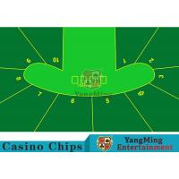Buy cheap 2400*1400mm Touch Comfort Casino Table Layout Using Three Anti-Free Cloth product